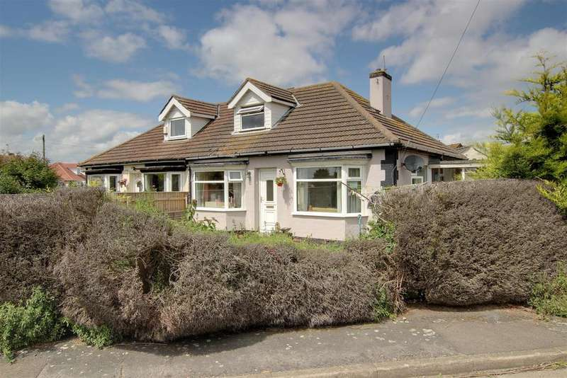 2 Bedrooms Semi Detached Bungalow for sale in Byron Road, Mablethorpe