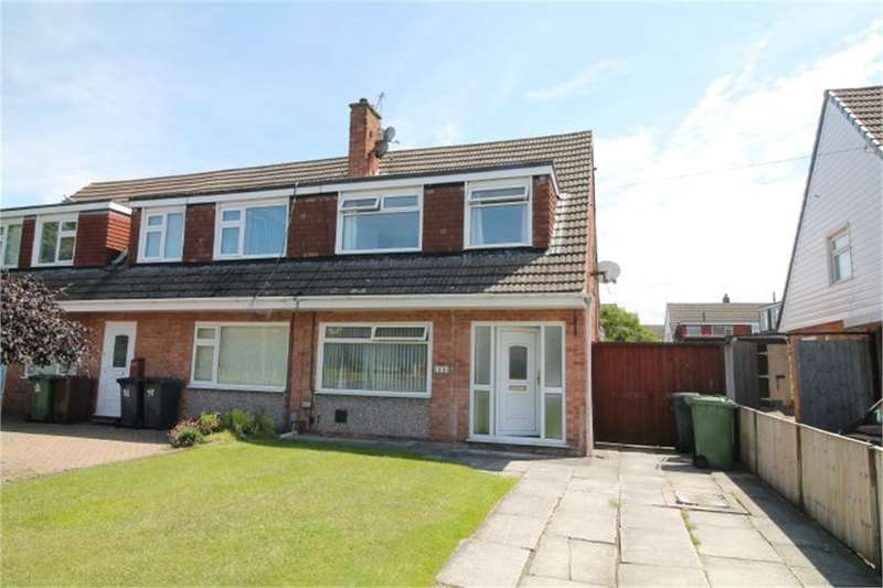3 Bedrooms Semi Detached House for sale in Cleve Way, FORMBY, Liverpool, Merseyside