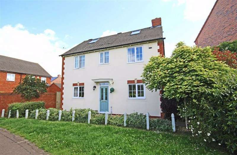 4 Bedrooms Detached House for sale in Lancer Close, Walton Cardiff, Tewkesbury, Gloucestershire