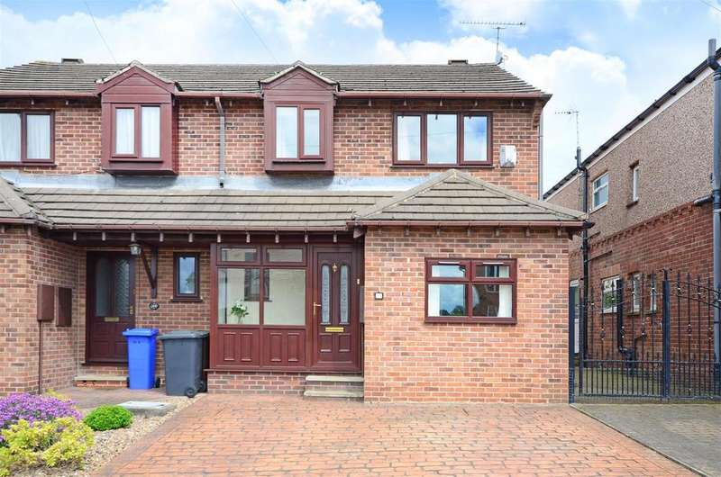 4 Bedrooms Semi Detached House for sale in Meadow View Road, Sheffield
