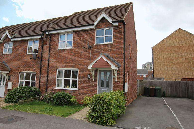 3 Bedrooms Semi Detached House for sale in 26 Deansleigh, Lincoln. LN1 3QB