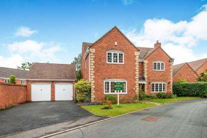 6 Bedrooms Detached House for sale in Cavell Road, Burntwood, Staffordshire