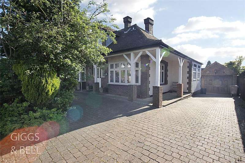 4 Bedrooms Detached Bungalow for sale in Barton Road, Luton, Bedfordshire, LU3
