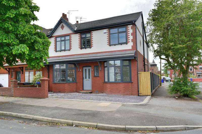 5 Bedrooms Semi Detached House for sale in Wainwright Avenue, Dane Bank, Denton, M34 2WN