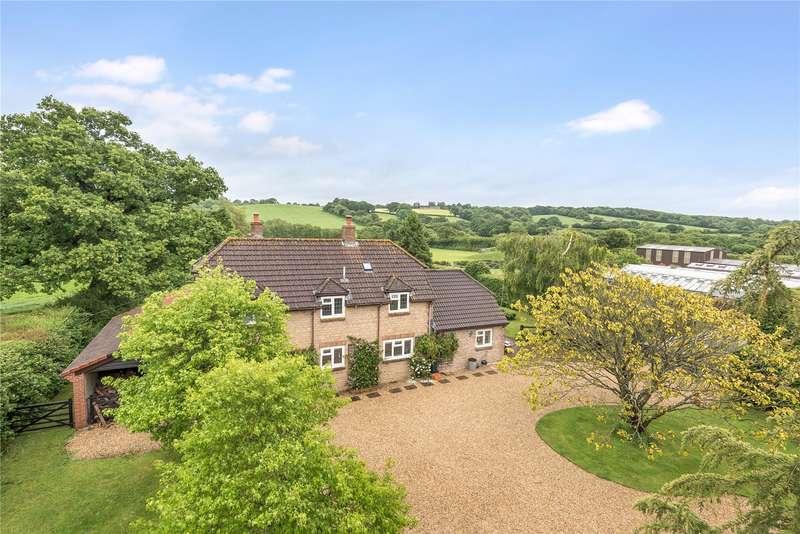 4 Bedrooms Detached House for sale in Yeovil Road, Halstock, Dorset, BA22