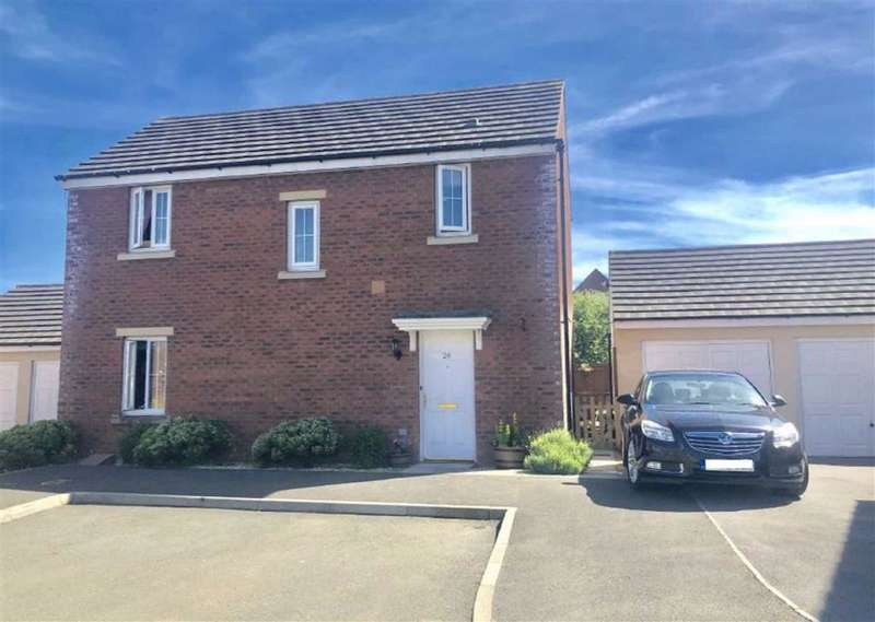 3 Bedrooms Detached House for sale in Rhodfa'r Ceffyl, Carway, Kidwelly