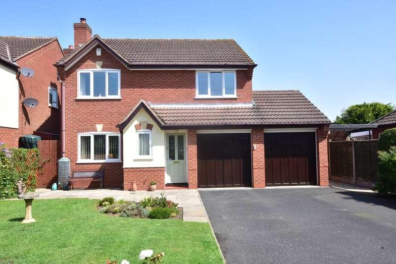 4 Bedrooms Detached House for sale in Alrewas Road, Kings Bromley, Burton-on-Trent, DE13