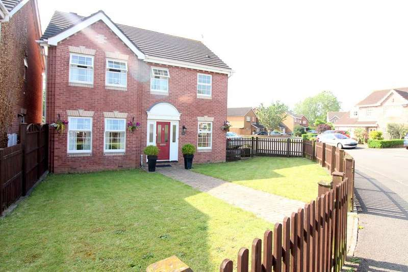 4 Bedrooms Detached House for sale in Cowleaze, Magor, Caldicot, NP26