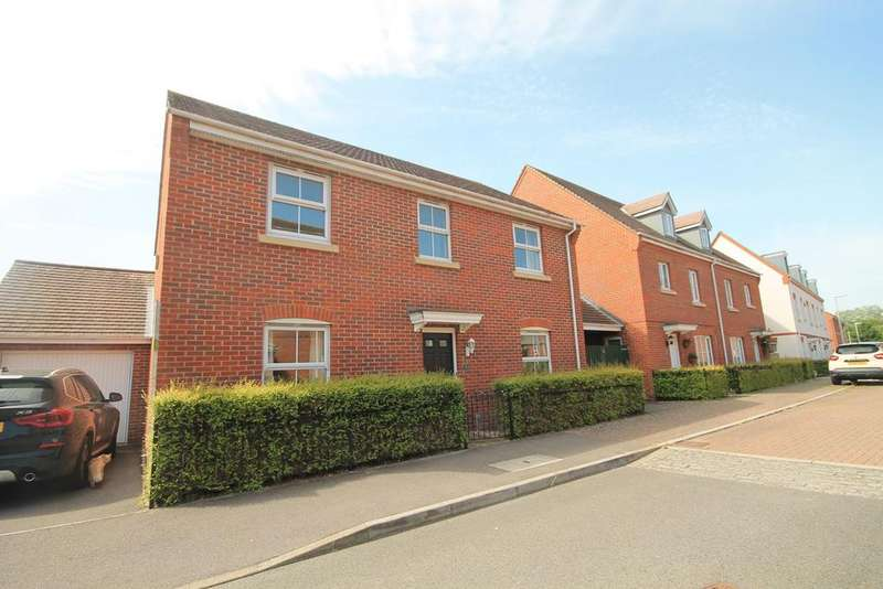 4 Bedrooms Detached House for sale in Coldstream Way, Thatcham, RG19