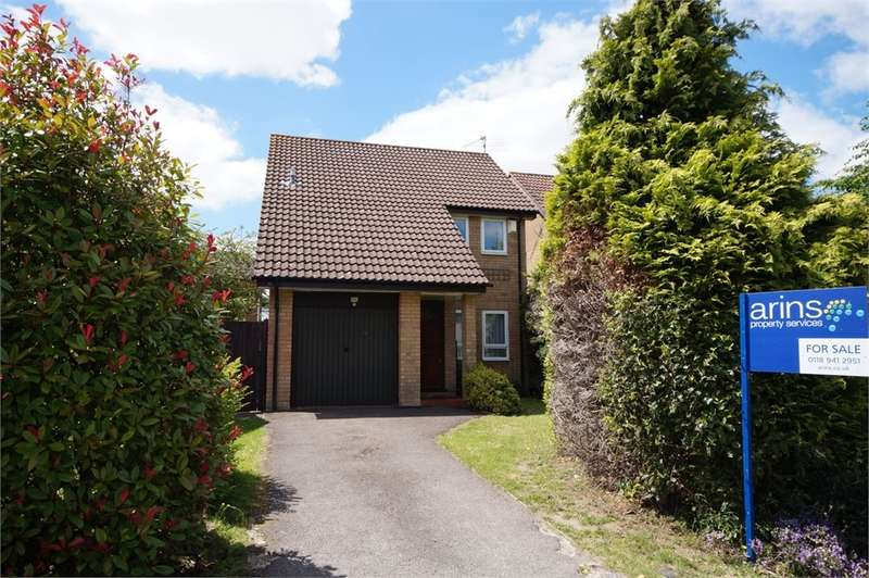 3 Bedrooms Detached House for sale in Hutton Close, Earley, READING, Berkshire
