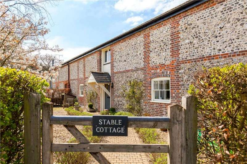 3 Bedrooms Semi Detached House for sale in Chapmansford Farm, Hurstbourne Priors, Whitchurch, Hampshire, RG28