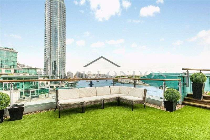 3 Bedrooms Property for sale in Drake House, St George Wharf, London