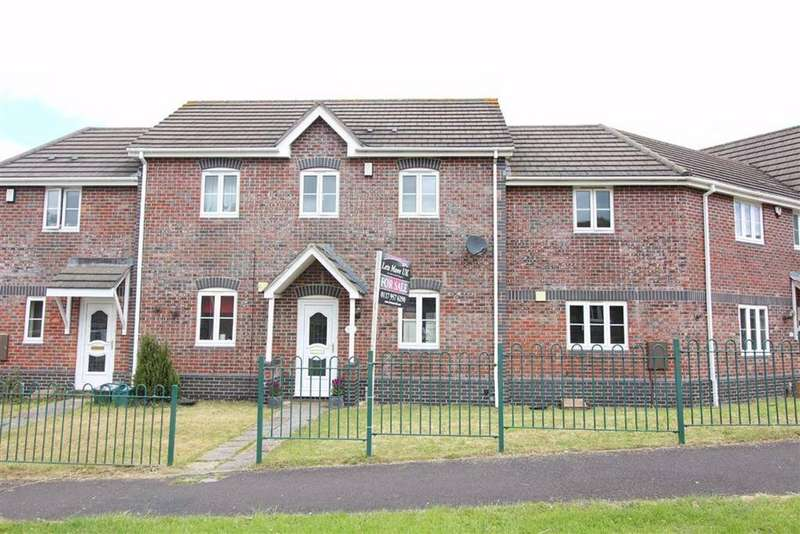 3 Bedrooms Terraced House for sale in Adderly Gate, Emersons Green, Bristol