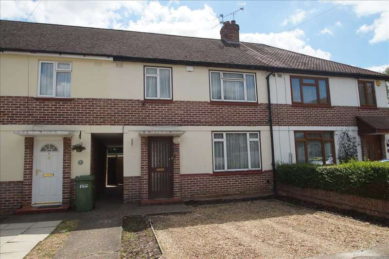 3 Bedrooms Terraced House for sale in Crummock Close, Burnham