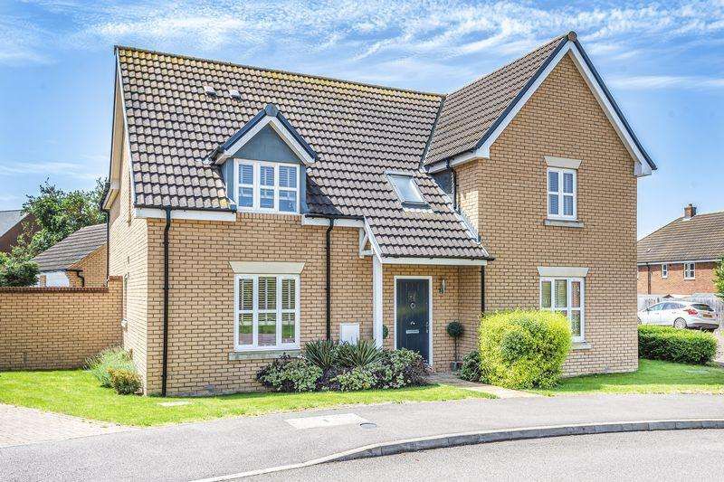 5 Bedrooms Detached House for sale in Ridge View, Houghton Conquest
