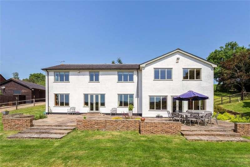 5 Bedrooms Detached House for sale in Hugglers Hole, Semley, Shaftesbury, Dorset, SP7
