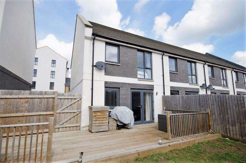 3 Bedrooms End Of Terrace House for sale in Eighteen Acre Drive, Charlton Hayes, Bristol