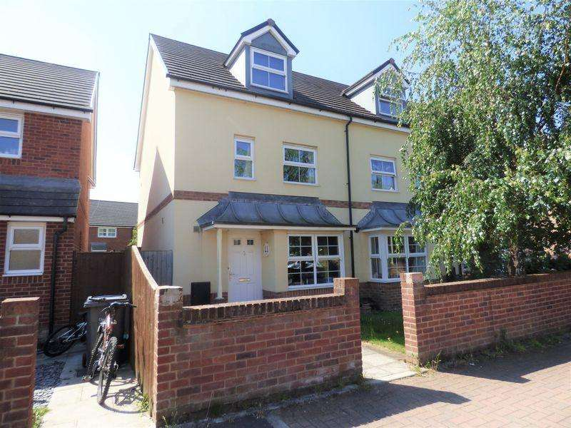 4 Bedrooms End Of Terrace House for sale in Syerston Place Kingsway, Gloucester