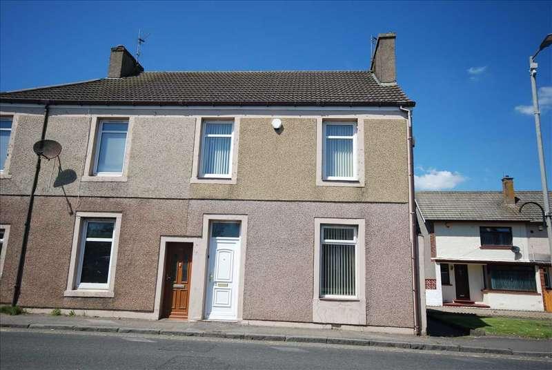 3 Bedrooms Semi Detached House for sale in Boglemart Street, Stevenston