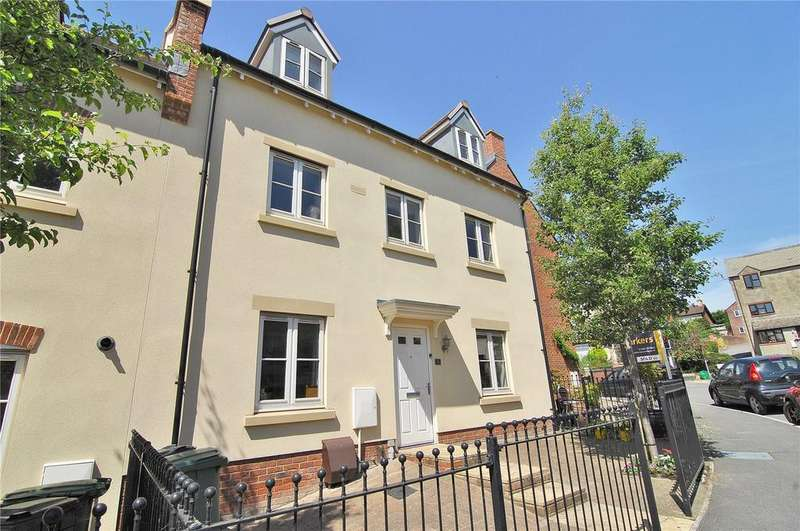 4 Bedrooms Town House for sale in Greenaways, Ebley, Stroud, Gloucestershire, GL5
