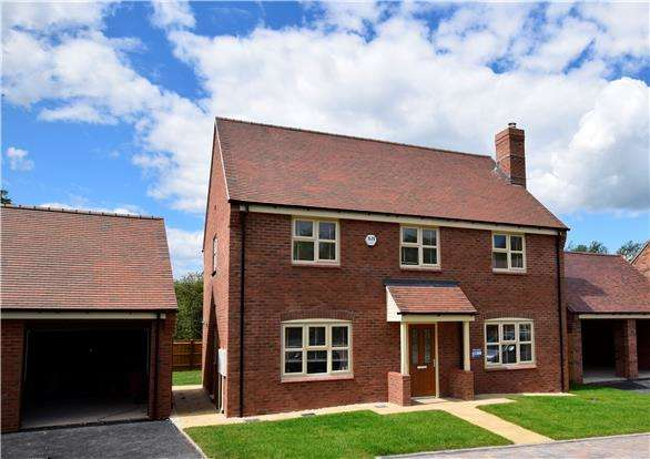4 Bedrooms Detached House for sale in Archers Reach, Bishops Cleeve, Gloucestershire, GL52 8SA