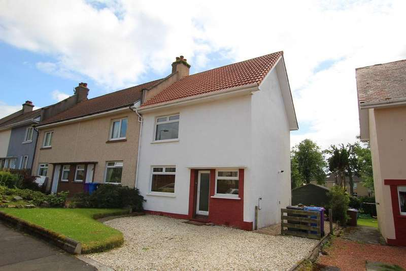 2 Bedrooms End Of Terrace House for sale in 34 Queens Avenue, LARGS, KA30 9HD