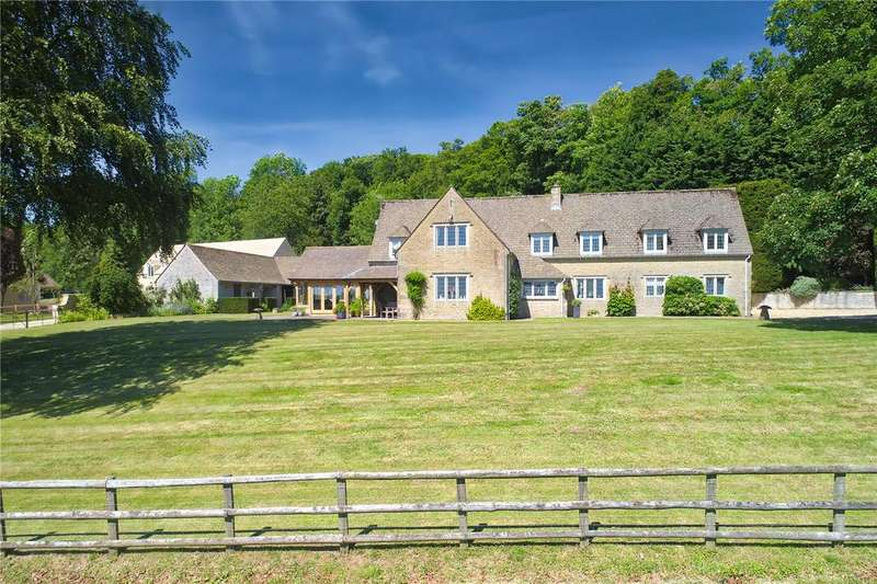 6 Bedrooms Detached House for sale in Maugersbury, Cheltenham, Gloucestershire, GL54