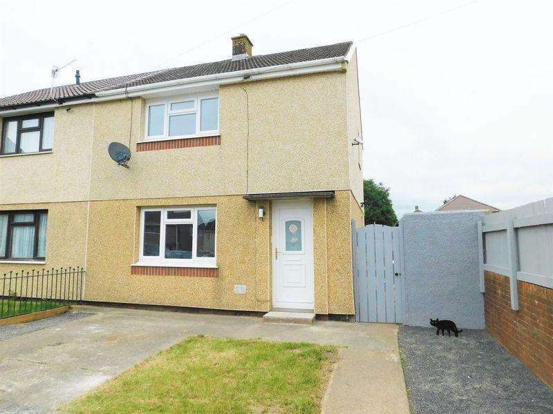 2 Bedrooms Semi Detached House for rent in Gaer Place, Hengoed