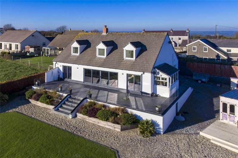Detached House for sale in Badgers Crossing, Llansadurnen, Laugharne, Carmarthen
