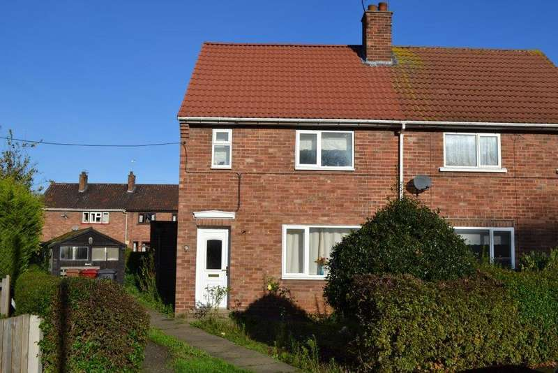 2 Bedrooms Semi Detached House for rent in Coronation Gardens, Broughton, North Lincolnshire, DN20