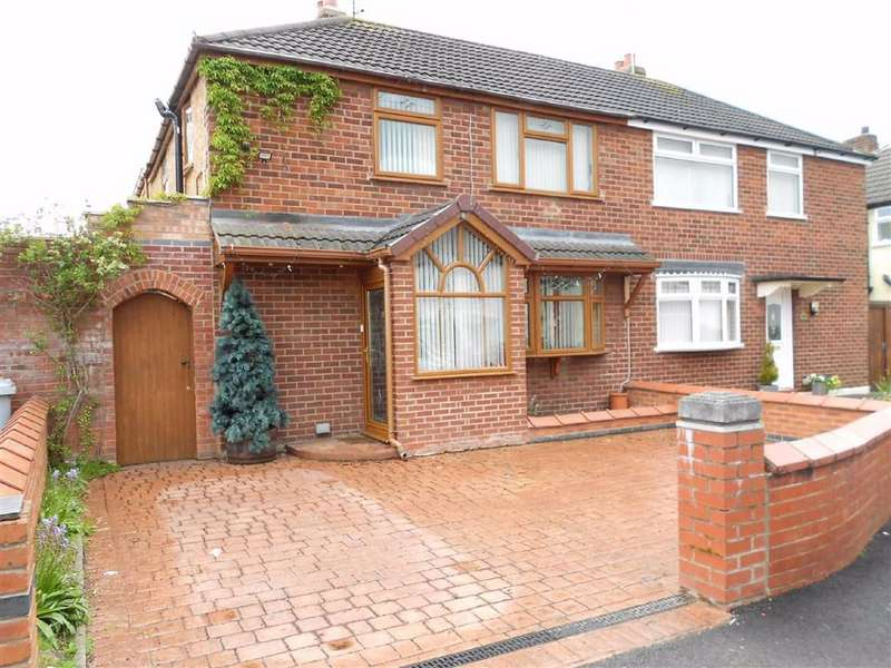 5 Bedrooms Semi Detached House for sale in Holland Street, Crewe, Cheshire