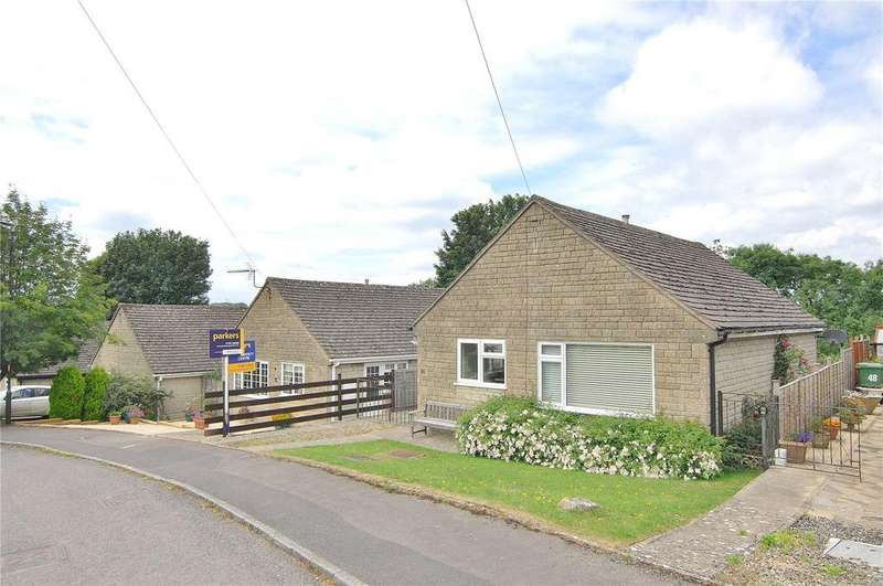 2 Bedrooms Bungalow for sale in Lypiatt View, Bussage, Stroud, Gloucestershire, GL6