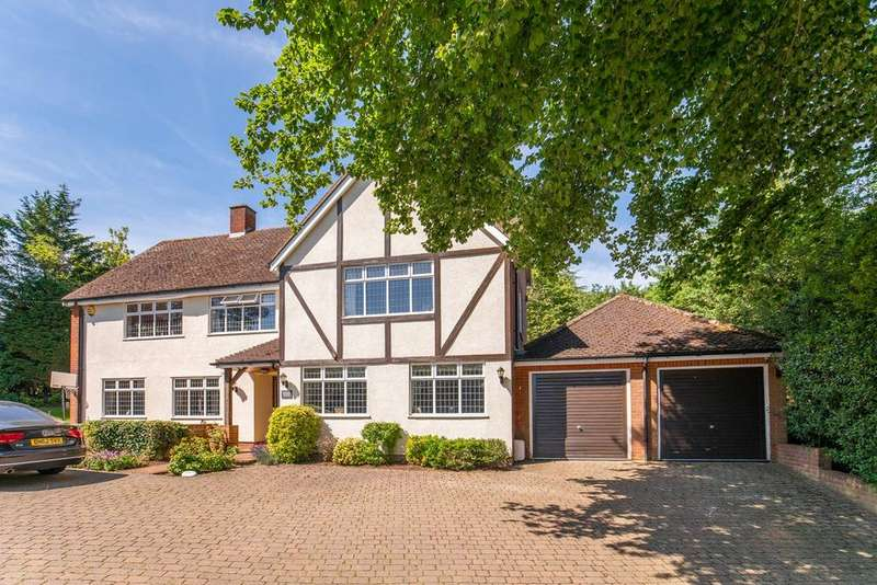 5 Bedrooms Detached House for sale in Garth Road, Letchworth Garden City, SG6
