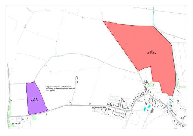 Land Commercial for sale in Brook Farm, Yelling
