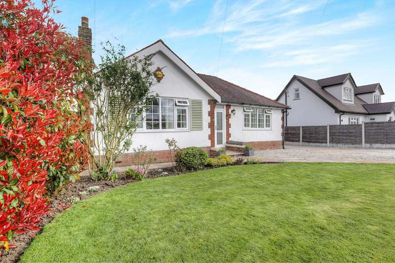 2 Bedrooms Detached Bungalow for sale in Manor Road, Marple, Stockport, Cheshire, SK6
