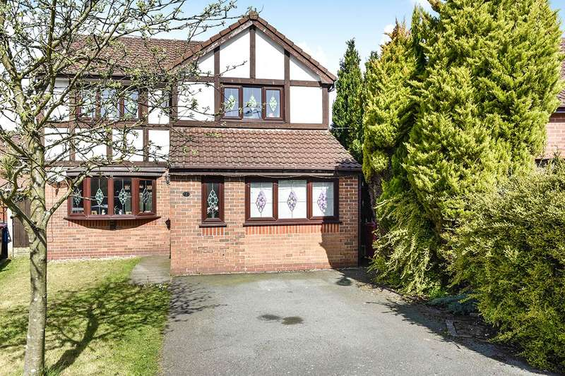 4 Bedrooms Detached House for sale in Briarswood Close, Whiston, Prescot, Merseyside, L35