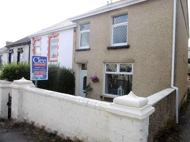 3 Bedrooms End Of Terrace House for sale in Tredegar Road, Ebbw Vale, Blaenau Gwent.