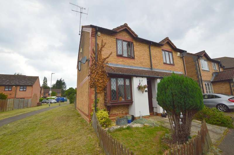 2 Bedrooms End Of Terrace House for sale in Malthouse Green, Wigmore, Luton, Bedfordshire, LU2 8SW