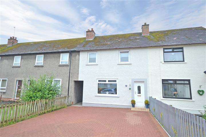 2 Bedrooms Terraced House for sale in 40 Mount Oliphant Crescent, Ayr, KA7 3DY