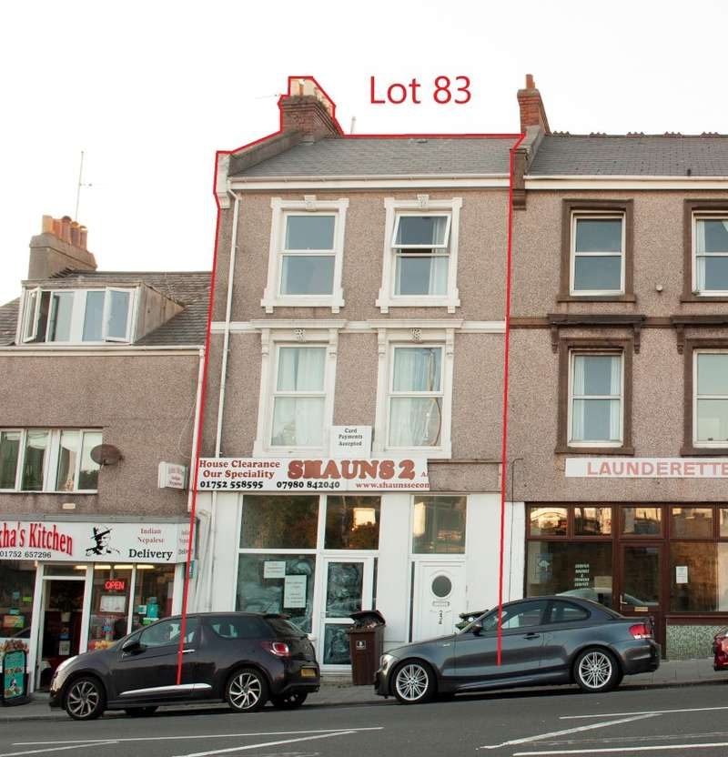 2 Bedrooms Mixed Use Commercial for sale in Albert Road, Plymouth, Devon, PL2 1AW