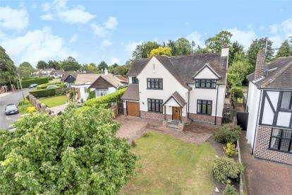 4 Bedrooms Detached House for sale in Highfield Road, Chislehurst