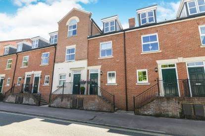 3 Bedrooms Terraced House for sale in Portland Walk, Worcester, Worcestershire