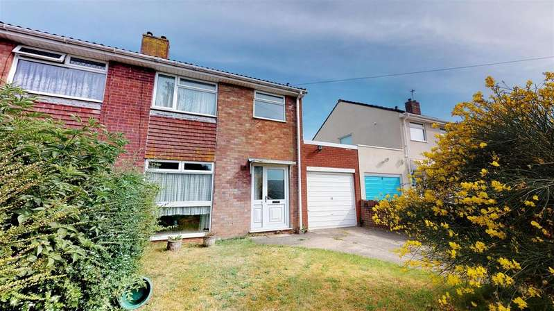 3 Bedrooms Semi Detached House for sale in Harrington Road, Stockwood, Bristol