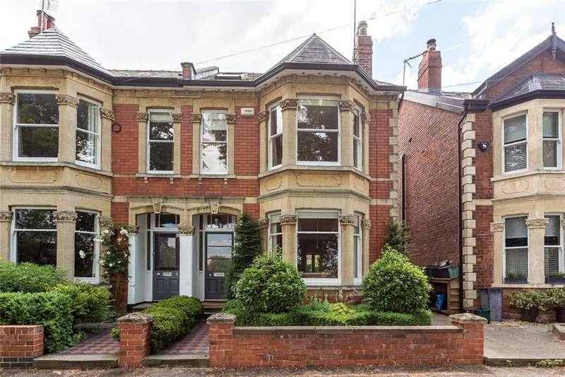 4 Bedrooms Semi Detached House for sale in Kensington Avenue, Cheltenham, Gloucestershire, GL50