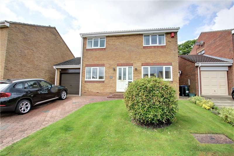 4 Bedrooms Detached House for sale in Woodburn, Tanfield Lea, Stanley, DH9
