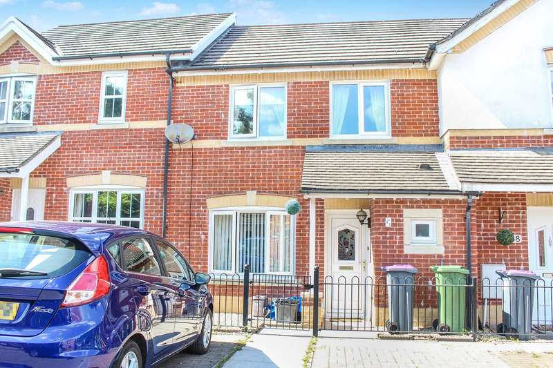 3 Bedrooms Terraced House for sale in Clos Afon Llwyd, Pontypool, NP4