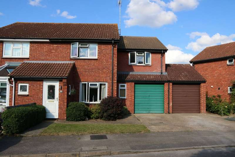 3 Bedrooms Semi Detached House for sale in Flamborough Close, Lower Earley, Reading, Berkshire, RG6