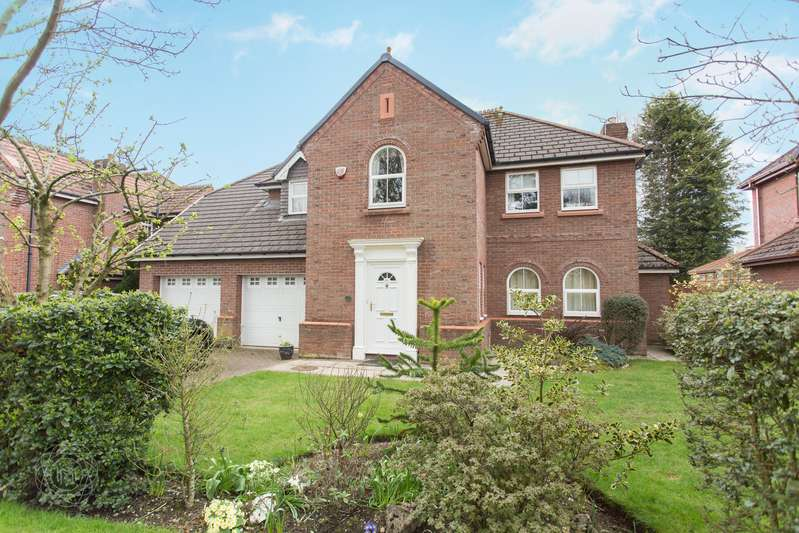 4 Bedrooms Detached House for sale in Stainforth Close, Culcheth, Warrington, WA3