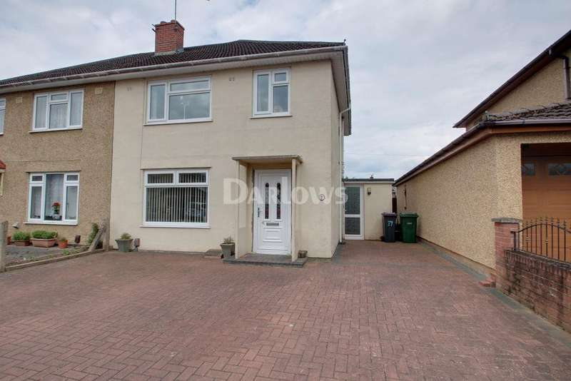 3 Bedrooms Semi Detached House for sale in South Road, Oakfield, Cwmbran, NP44