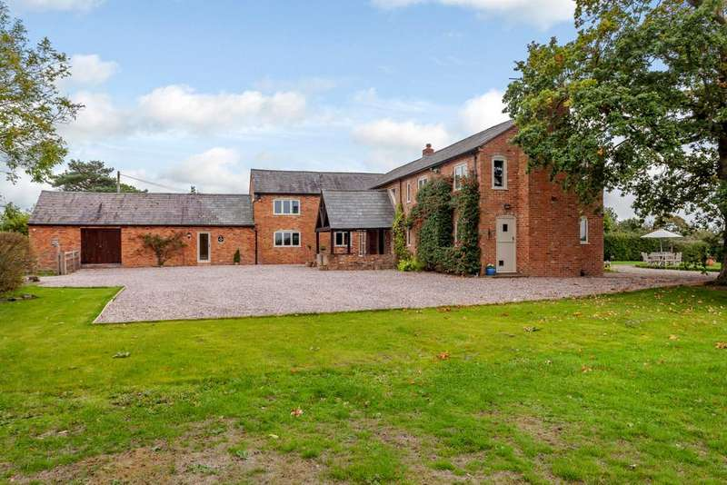 5 Bedrooms Barn Conversion Character Property for sale in Chorley Green Lane, Chorley, Nantwich